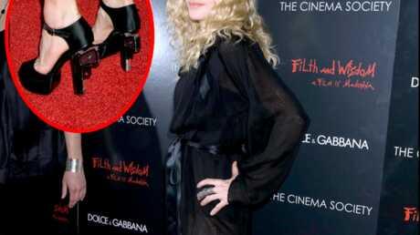 Madonna et ses chaussures au cœur de la polémique