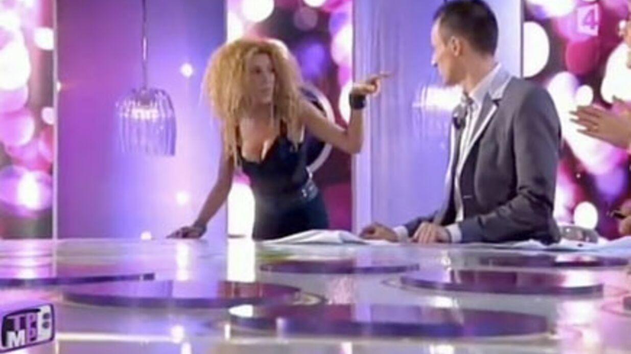 VIDEO Furieuse, Afida Turner quitte le plateau d'Hanouna
