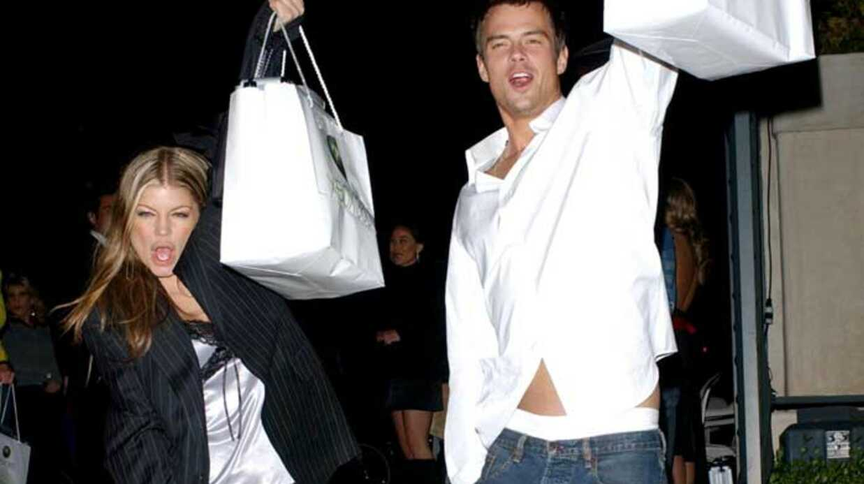 Fergie et Josh  Bientôt trois?