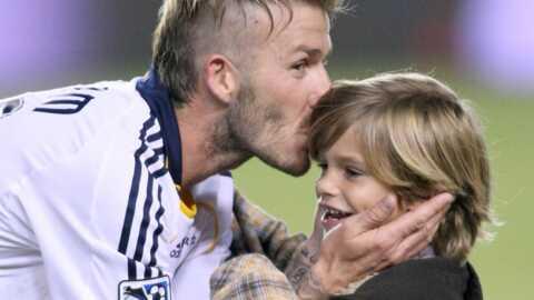 David Beckham proche de ses enfants grâce à Skype
