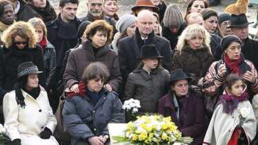L'hommage de ses proches