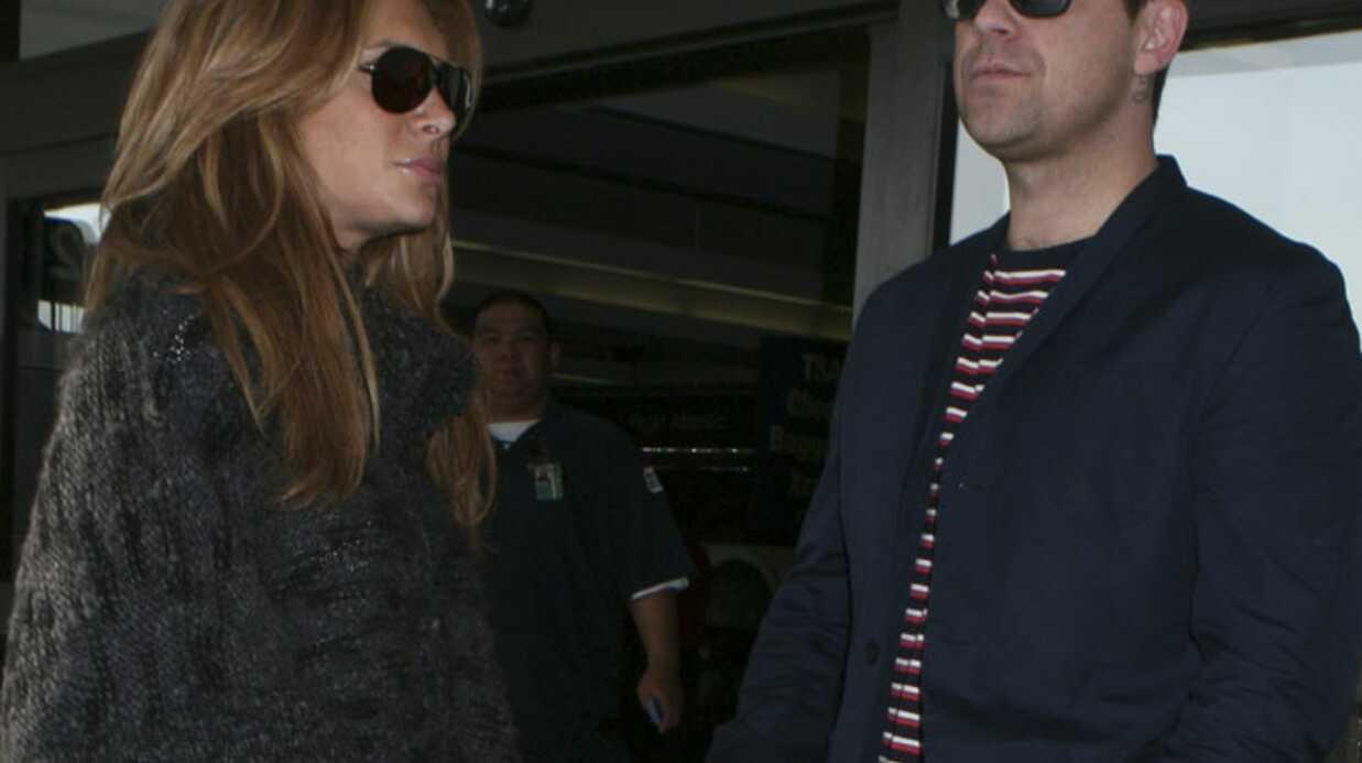 Robbie Williams: sa fiancée quitte la maison à cause du foot