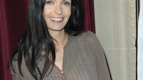 Adeline Blondieau enceinte de son deuxième enfant