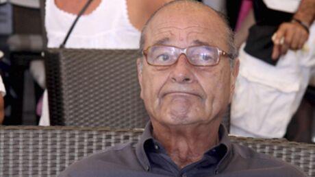 Une photo de Jacques Chirac censurée. En cause, une cigarette