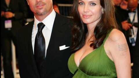 Angelina Jolie & Brad Pitt Ce sont des filles!