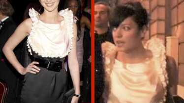 Même robe pour Louise et Lily