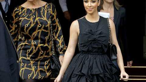 Kim Kardashian à Paris avec sa mère