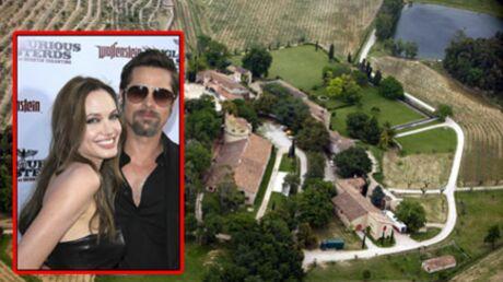 Brad Pitt et Angelina Jolie en vacances en France