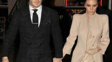 David et Victoria Beckham: première Saint-Valentin ensemble