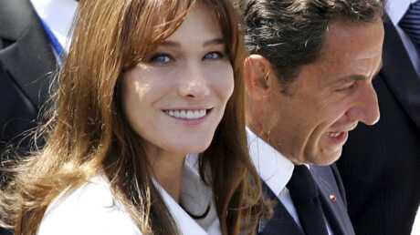 Carla Bruni et Nicolas Sarkozy à New York pour Mandela