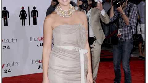 LOOK Katherine Heigl: rayonnante en version brunette