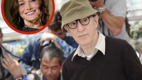 Woody Allen espère que Carla Bruni tournera pour lui