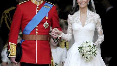 Kate et William: tous les détails de leurs tenues de mariage