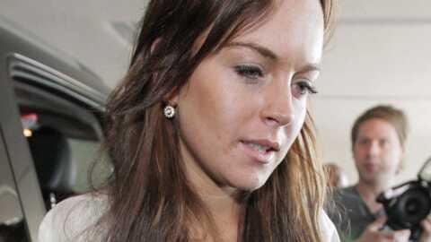 Lindsay Lohan Vol de nuit