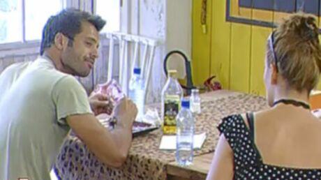 La Ferme Célébrités: la déclaration d'amour de David à Kelly