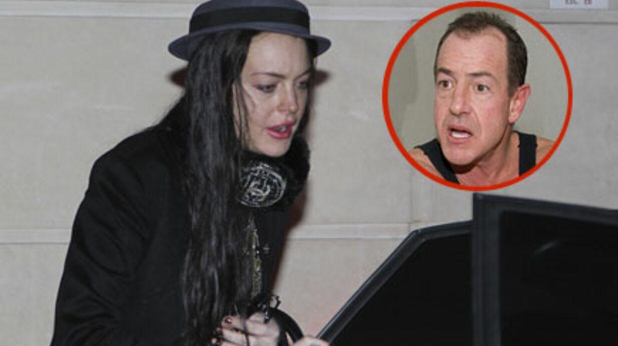 Lindsay Lohan: crise cardiaque de son père Michael