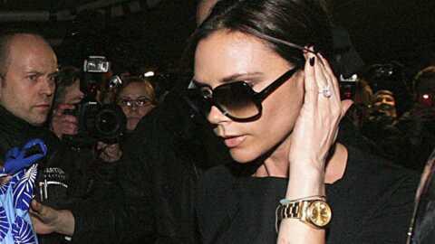Victoria Beckham en Finlande pour réconforter son époux
