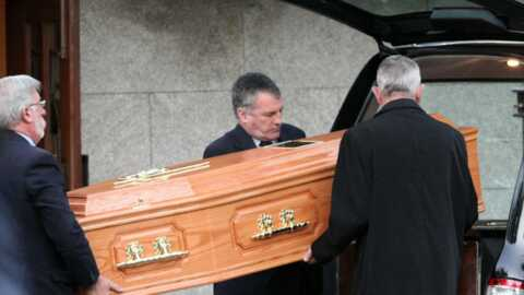 Boyzone: les obsèques de Stephen Gately