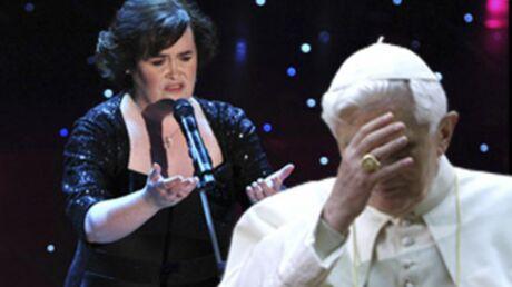 VIDEO Susan Boyle snobée par le Pape