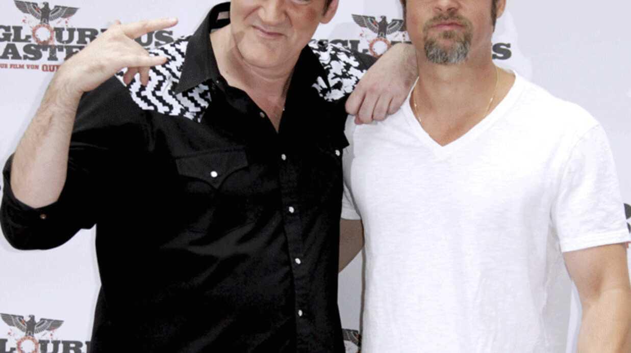 Brad Pitt en pétard contre Quentin Tarantino
