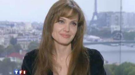 VIDEO Angelina Jolie à Paris: les coulisses du 20 heures