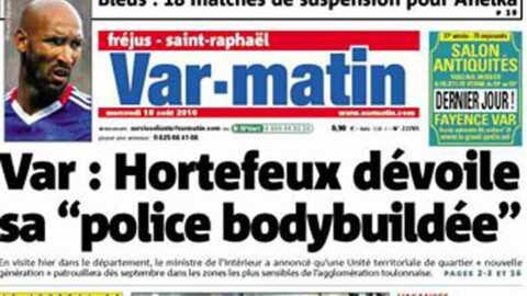 Zahia: la prostituée des Bleus s'affiche à Saint-Tropez