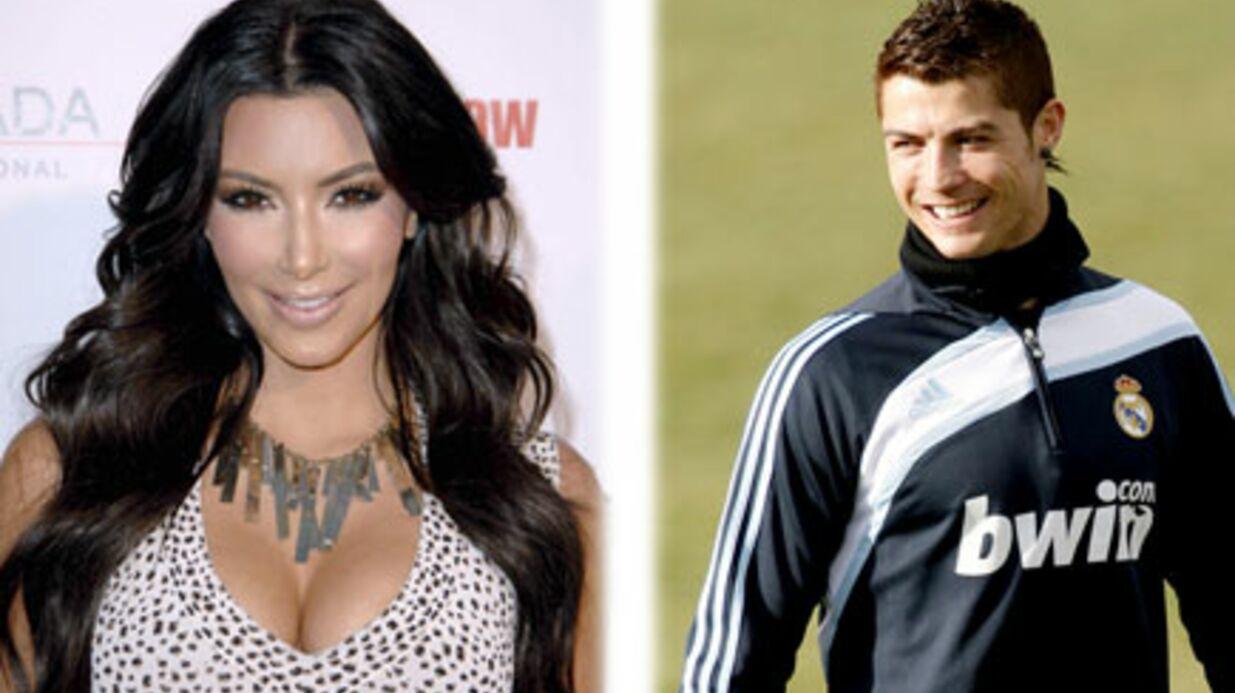 Cristiano Ronaldo: son flirt avec Kim Kardashian
