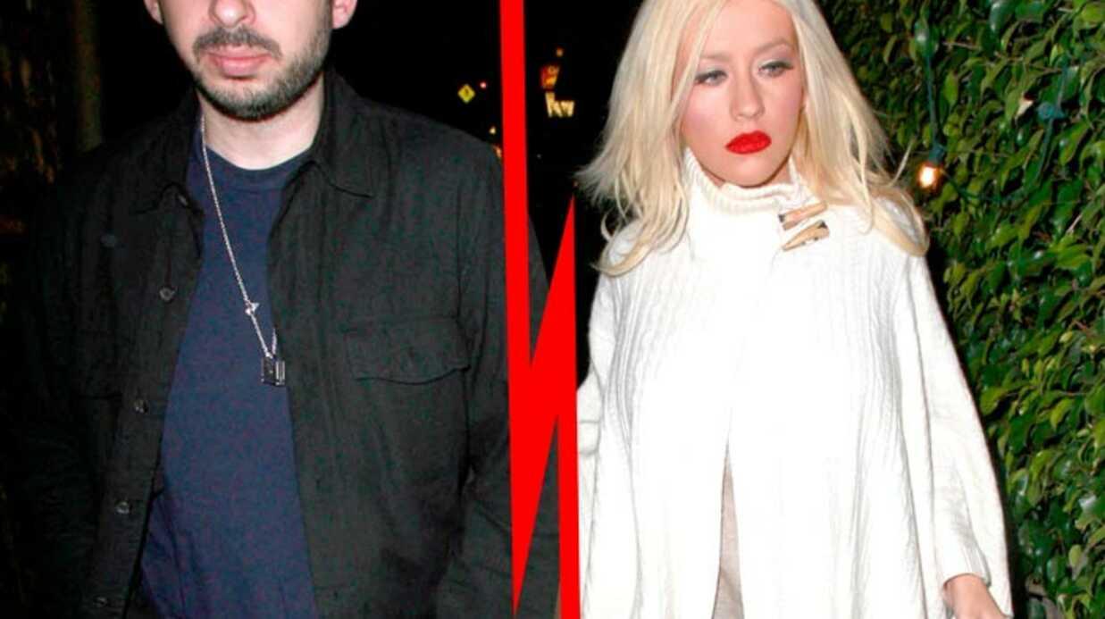 Christina Aguilera officiellement divorcée de Jordan Bratman