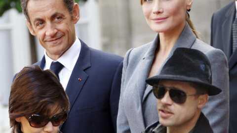 Carla Bruni, Katie Holmes et Brad Pitt: un point commun