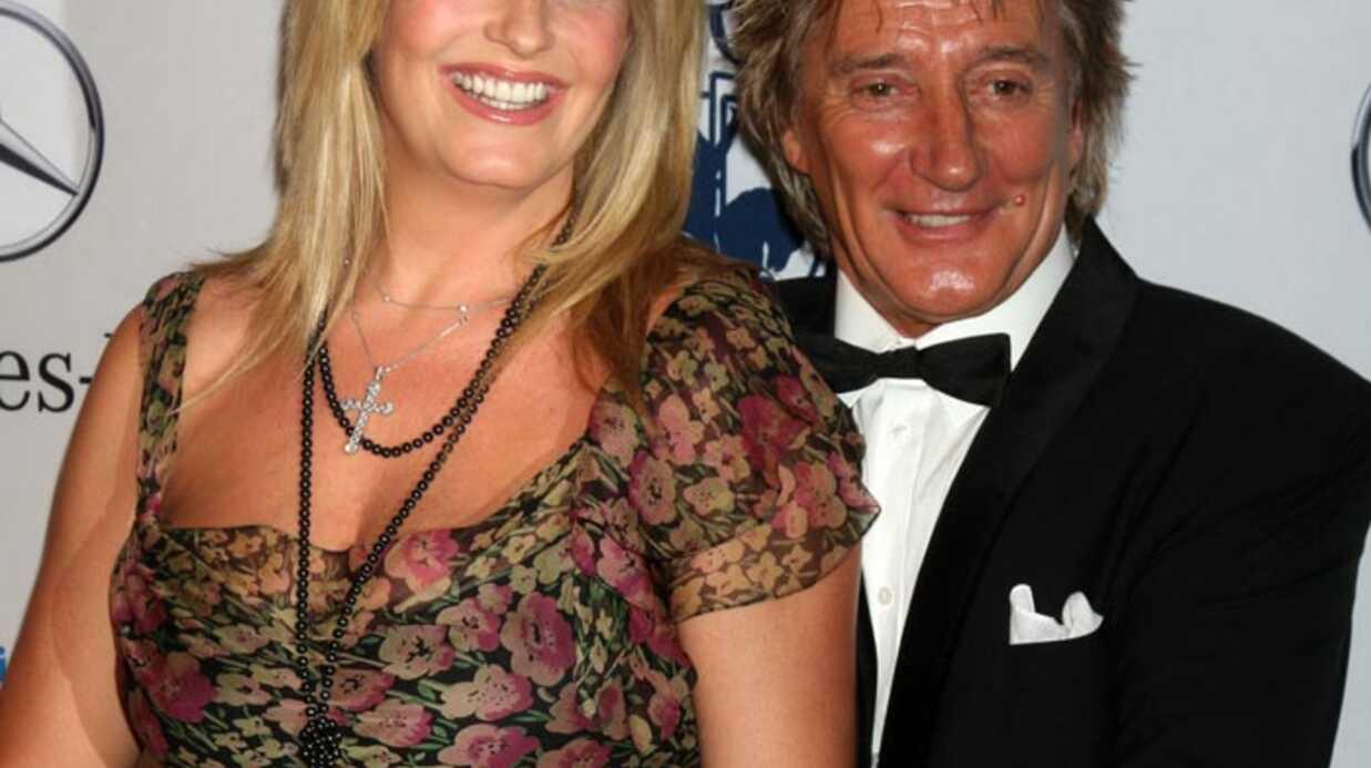 Rod Stewart: sa femme Penny Lancaster a accouché