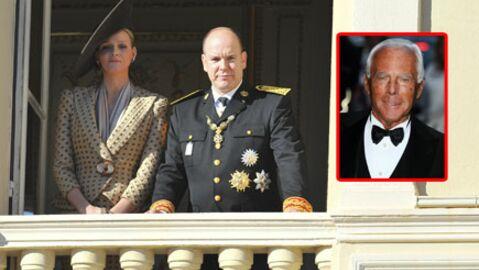 Mariage Albert II de Monaco: Armani pour la robe de mariée