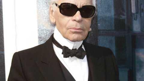 Karl Lagerfeld Mal sapé pour la bonne cause