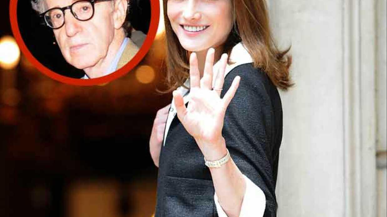 Woody Allen veut faire tourner Carla Bruni