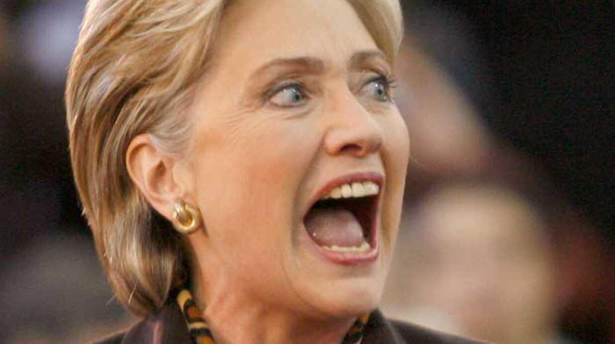 Hillary Clinton s'est cassée le coude en trébuchant