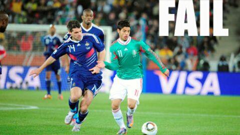 Audiences: 15,2 millions pour la défaite des Bleus