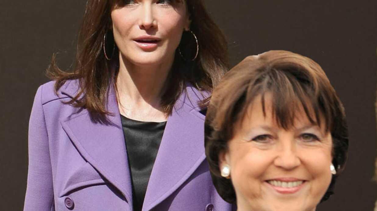 Carla Bruni enceinte: le trait d'humour de Martine Aubry