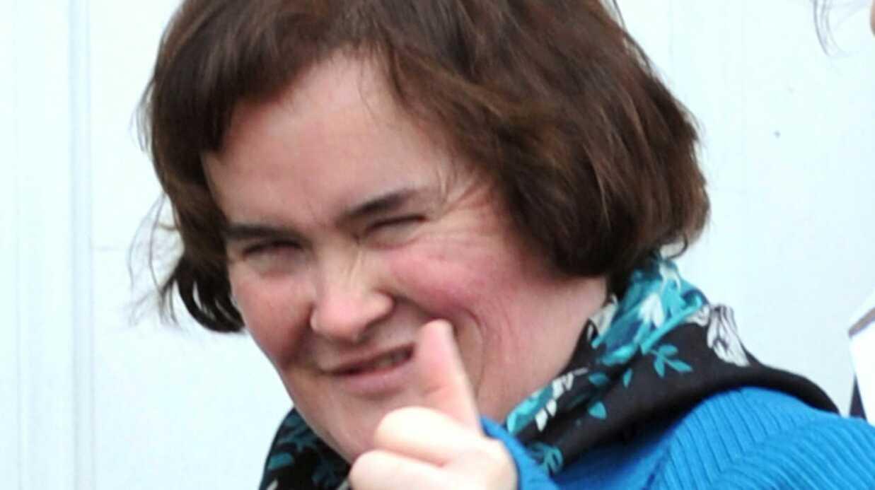 Susan Boyle oublie de se raser