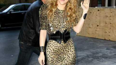LOOK Shakira: folle de l'imprimé léopard