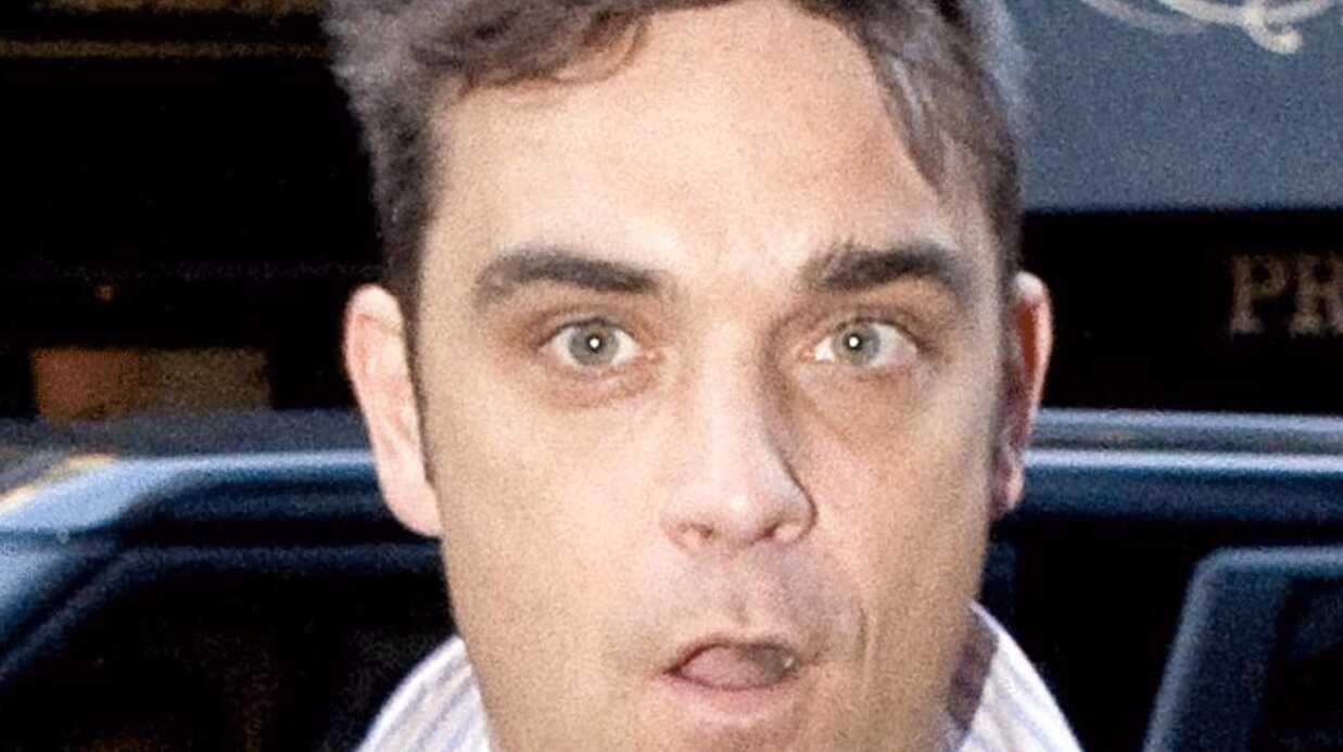 Robbie Williams pense avoir attrapé la grippe A H1N1
