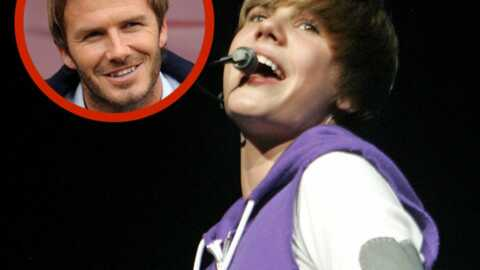 Justin Bieber demande une leçon de foot à David Beckham
