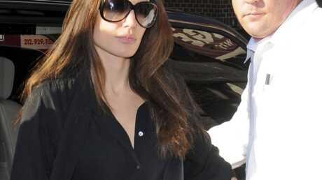 Angelina Jolie sur le tournage de SALT