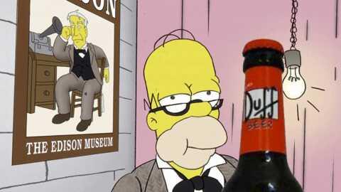 Les Simpson: la bière préférée d'Homer en vente en Europe