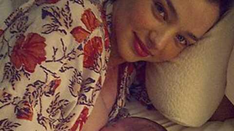 Miranda Kerr et Orlando Bloom: première photo du bébé