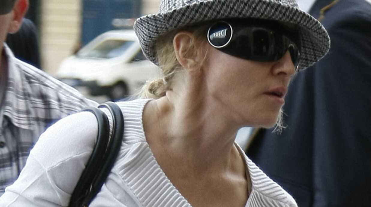Madonna a rendu visite aux blessés et aux familles des victimes