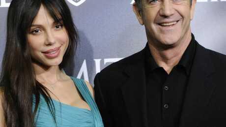 La photo choc d'Oksana défigurée par Mel Gibson