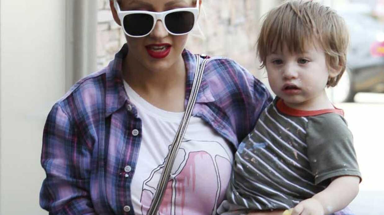 Christina Aguilera: son fils Max a bien grandi!