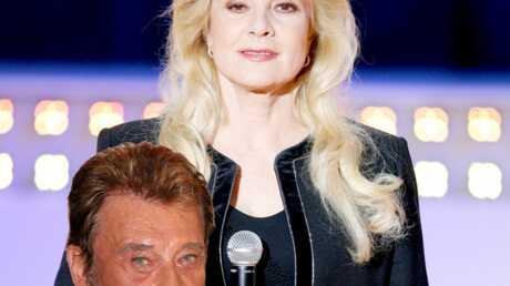 Johnny Hallyday et Sylvie Vartan en duo à l'Olympia