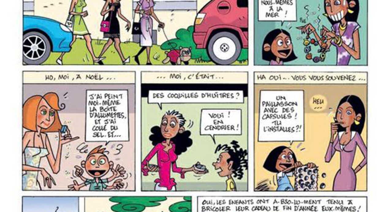 Adeline Blondieau sort une nouvelle bande-dessinée