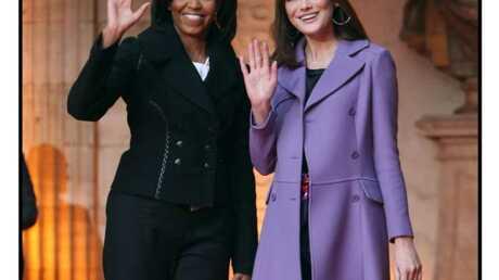 Michelle Obama mieux fringuée que Carla Bruni-Sarkozy