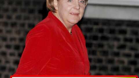 Angela Merkel en sous-vêtements sur les murs de Berlin